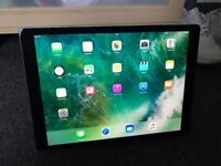 Apple iPad Pro 12.9 1st Gen Space Grey 32GB With Apple Pencil and Apple Front case [HARDLY USED ]