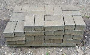 84 Grey Patio Bricks