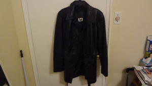 Womwns Leather JAcket - Made in Canada ( Soft Lamb skin )