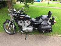 Harley Davidson in A1 condition with every extra available MOT april2018