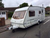Abbey impression 4 berth by Michael Jordan with motor mover - awning- and many extras!