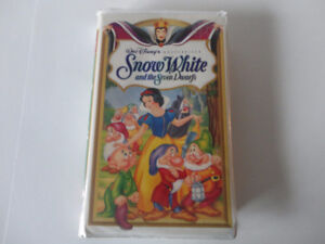 Snow White and the Seven Dwarfs VHS Disney Masterpiece Collectio