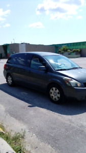 2005 Nissan Quest minivan certified and e-tested!