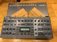 Access Virus TI2 desktop synthesizer + rack mount kit + wooden sides. Mint, boxed!