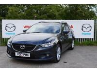 2017 Mazda 6 2.2d SE-L Nav 5 door Diesel Estate