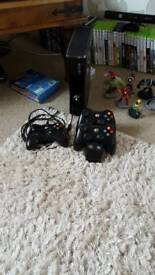 xbox 360 & kinect lots of extras