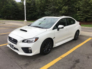 2017 Subaru WRX Sport Sedan Manual Lease take over in Toronto