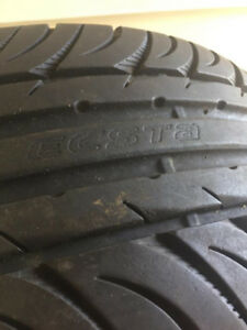SELLING MINT CONDITION 225/40ZR18 92Y XL TSW RIMS / KUMHO ECSTA