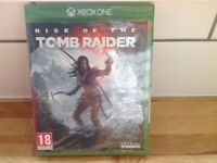 Tomb raider game for Xbox one never been opened