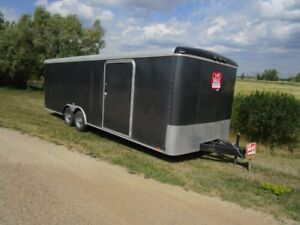24 Foot Enclosed Trailer. PRICE REDUCED