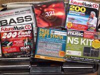 Sample CD's lot DJ DAW, VST's Samples, EDM, Synths, Drums, Techno, House, loops, Plug ins, PC Mac