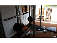 COMPLETE HOME GYM - HEAVY DUTY