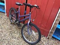 Mountain bike, Girls. Age 7-11 years, free to collector
