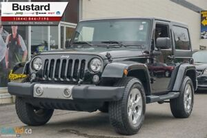 2015 Jeep Wrangler Sahara | HEATED SEATS | LEATHER |