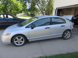 2008 Honda Civic DX-G Sedan for parts