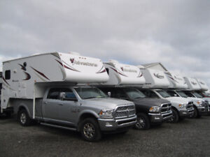 Huge Clearance on New and Used Truck Campers