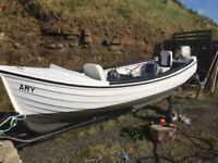 Orkney longliner fishing boat.