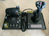 Saitek x55 joystick and throttle