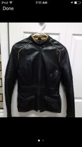 Woman's Leather Motorcycle jacket (sm)