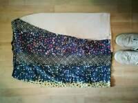ASOS Africa Side split midi skirt, 14