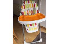 Cosatto noodle high chair (lollipop design)