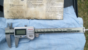 Mitutoyo IP66 Digital Caliper - Absolute Coolant Proof. Only $70