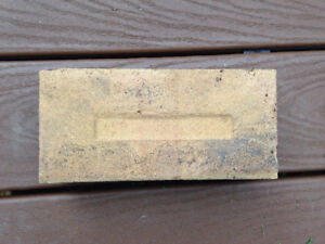 Cream colored bricks for sale