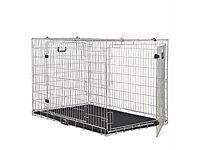 Large heavy duty dog cage for sale like new condition £40 ono