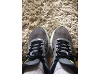 A pair of trainers for sale.