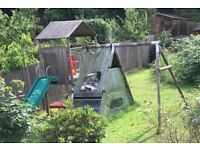 Children's outdoor climbing frame/ house/ gym