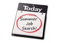 Students apply today- part time/full time summer work available- weekly pay!
