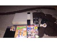 Nes with 3 games and one controller