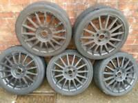 ST alloy wheels
