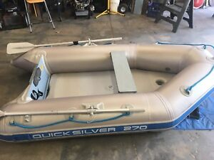 Quicksilver inflateable boat