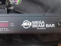 American DJ Mega Beam bars x 2