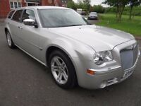 2006 CHRYSLER 300C CRD AUTO 3.0 DIESEL SILVER FULL SERVICE HISTORY TOW BAR