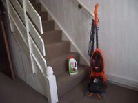 Vax Power Max Carpet Cleaner + Vax AAA+ Carpet Cleaner Liquid
