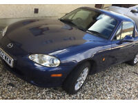 MX5 in great condition. Reluctant sale due to expanding family! Only 68k miles