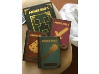 4 minecraft books