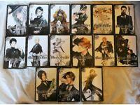 Volumes 3-17 Black Butler Manga Books (VGC Some Unread) £70 ono