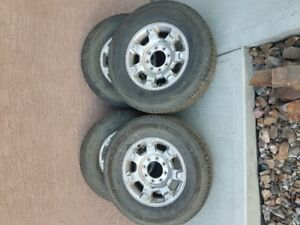 (4) Michelin Tires with Rims