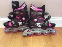 Rollerblades girls size 1-4