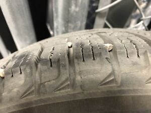 Michelin X-ICE winter tires and Rims for Hyundai Elantra