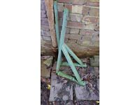 Pair of Wooden Wall Brackets