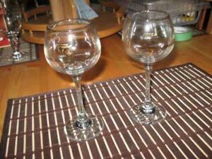 WINE GLASSES - OLYMPIC - SET OF 7 - REDUCED!!!!