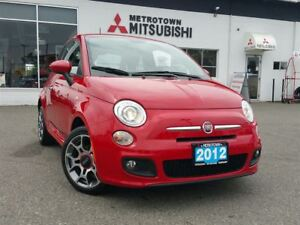 2012 Fiat 500 Sport; Local & No accidents