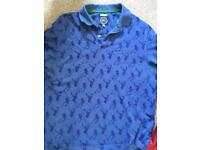 Joules sport fit polo shirt size large