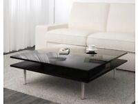 Coffee table gloss black