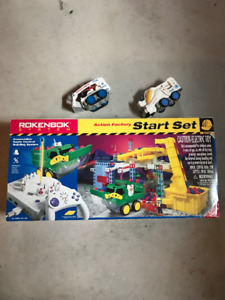 Rokenbok Starter Set with 2 extra Vehicles