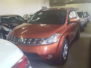 2005 Nissan Murano SL ,Accident free with sunroof